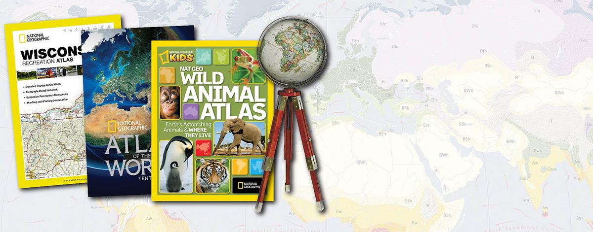 Books, Atlases & Globes