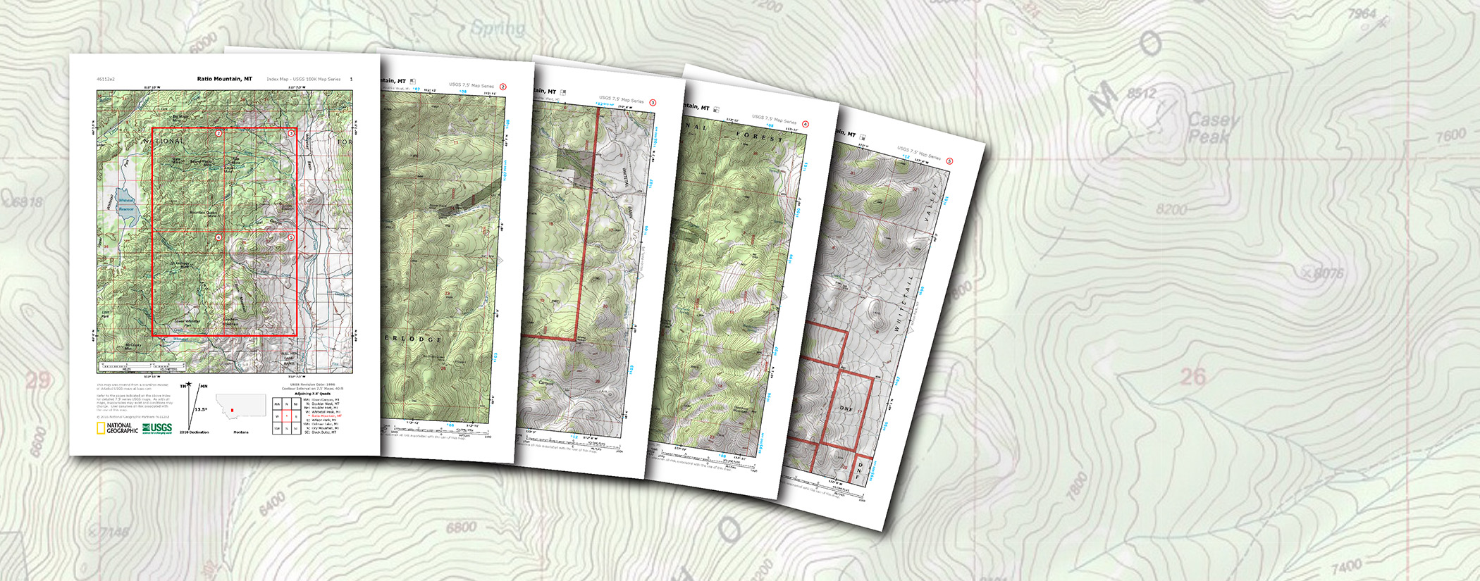 USGS PDF Quads