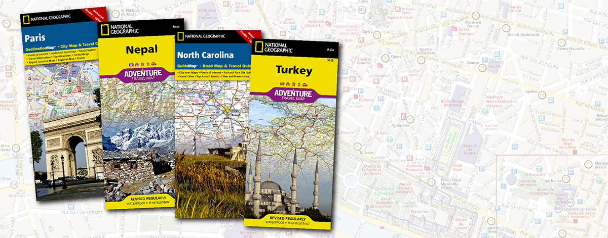 National Geographic Maps – Travel Mapping Software