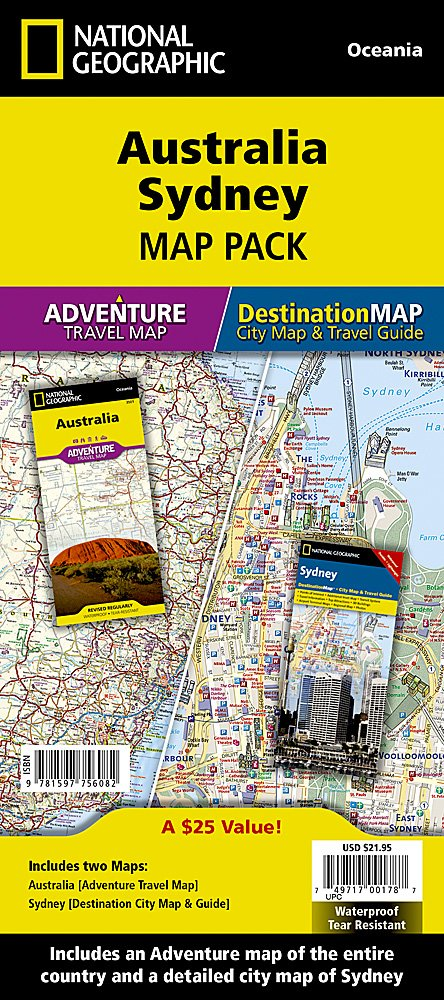 australia sydney map pack bundle