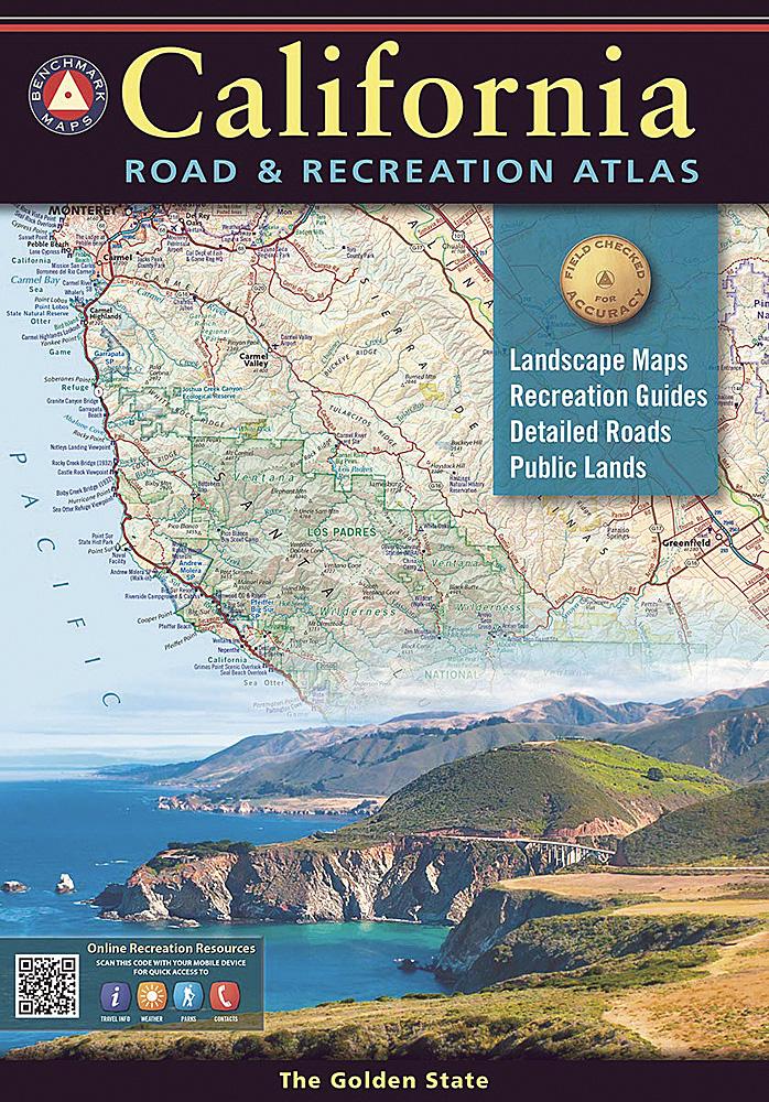 California Benchmark Road Recreation Atlas 10th Edition