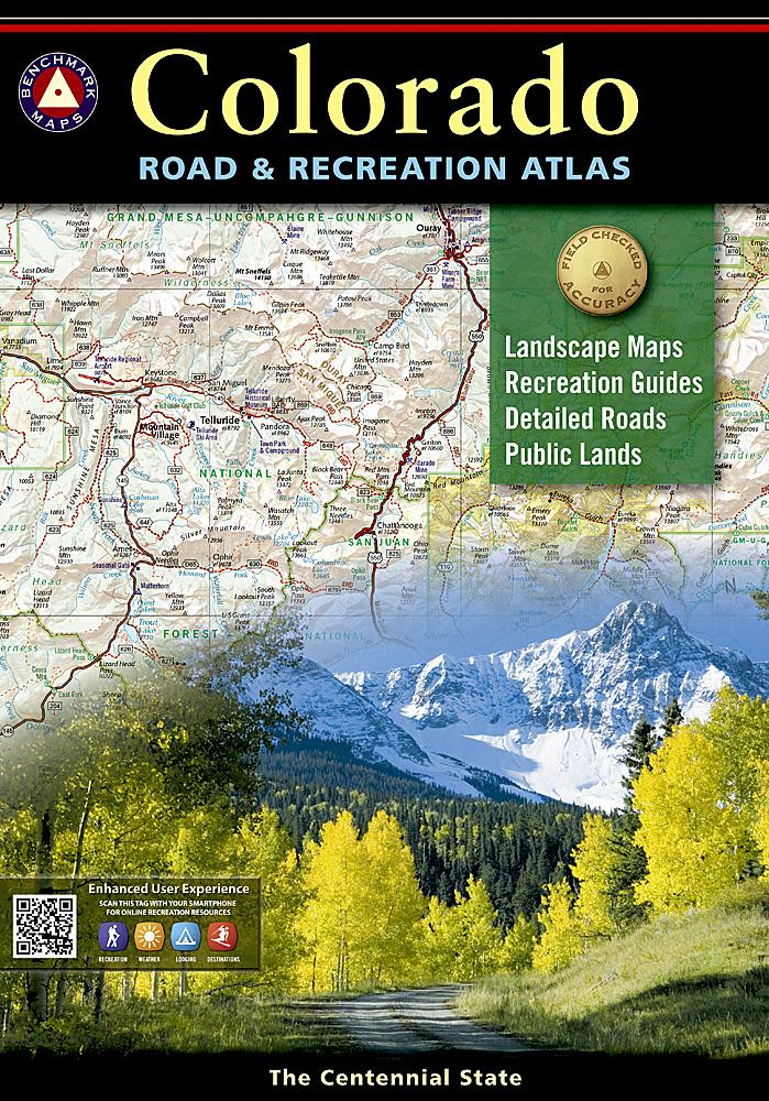 Colorado Benchmark Road Recreation Atlas 5th Edition