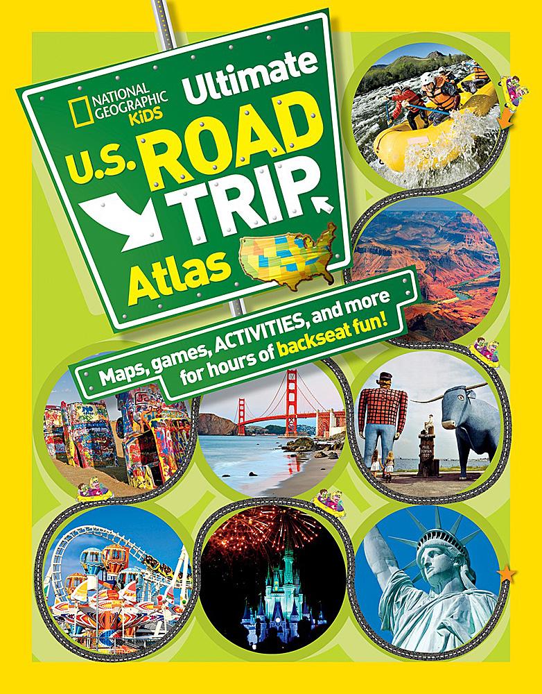 Ultimate US Road Trip Atlas - Us atlas road map