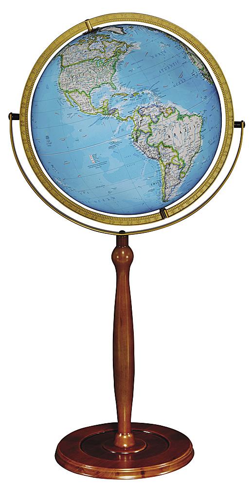 Chamberlin Illuminated Floor Globe