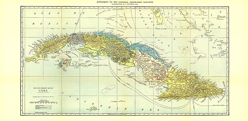 Cuba Map - Map cuba