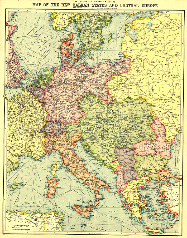 Races Of Europe Map