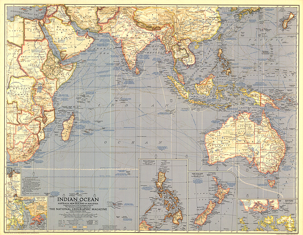 Indian ocean map home indian ocean map zoom sciox Gallery