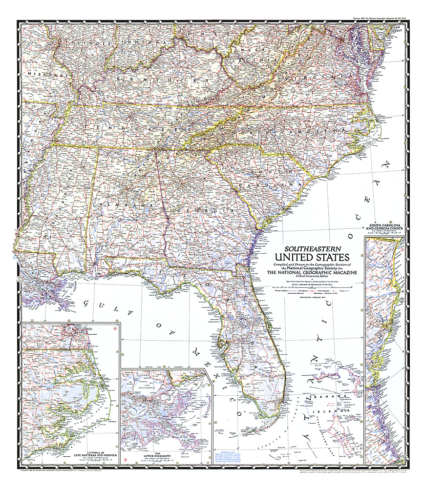 South Central United States Map - Central united states map