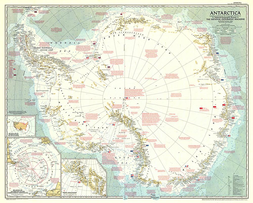Antarctica Map - Antarctica maps