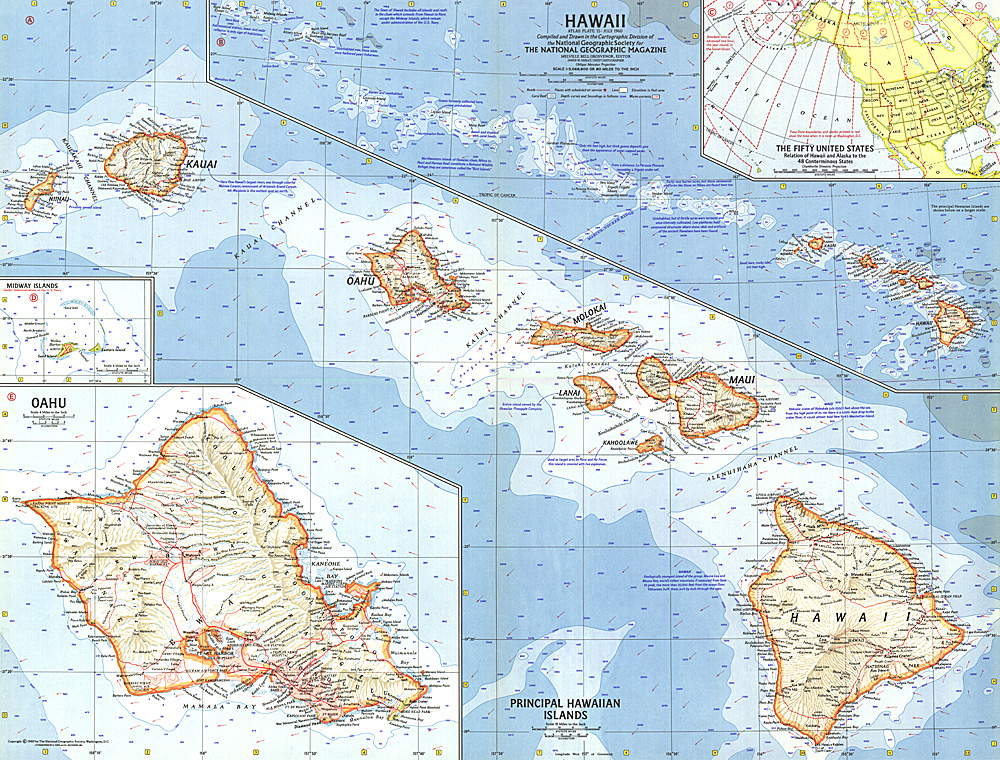 Hawaii Map - Us map hawaii