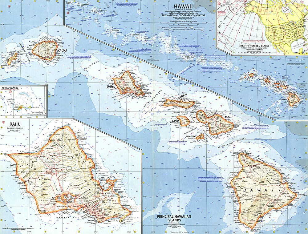 Hawaii Map - Where is hawaii in the map us