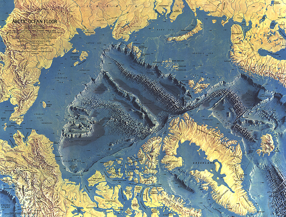 Superior National Geographic Maps