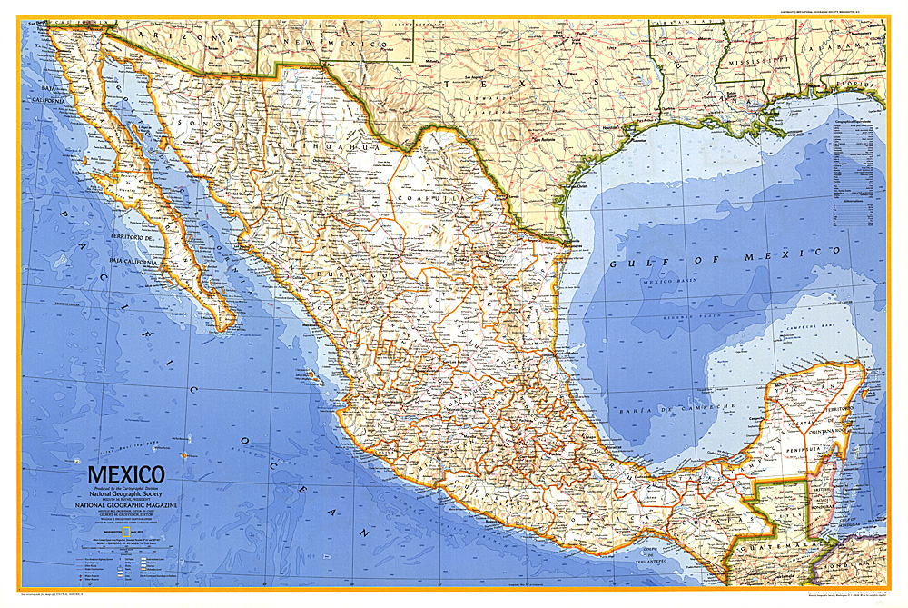 Mexico Map - Maps mexico