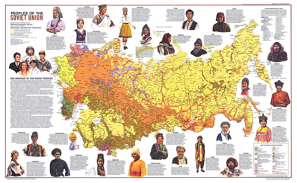 Peoples of the soviet union map gumiabroncs Choice Image