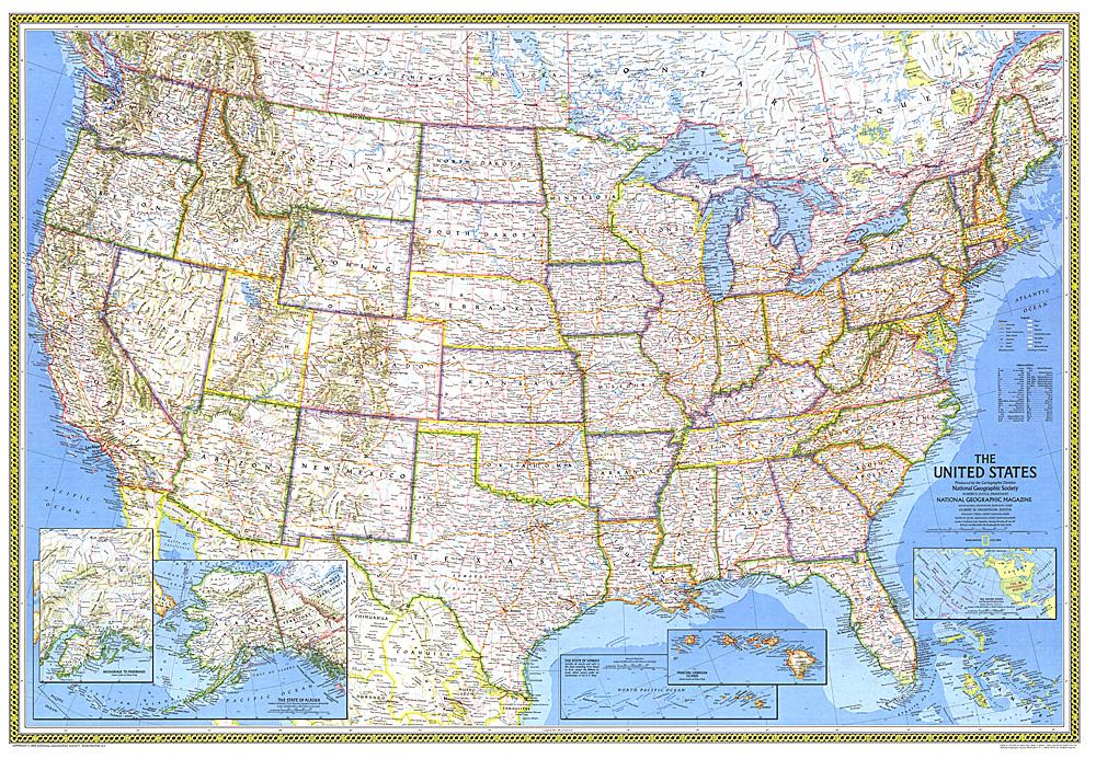 Closeup USA Hawaii Map - Us maps com