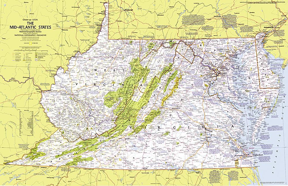 up usa mid atlantic states map