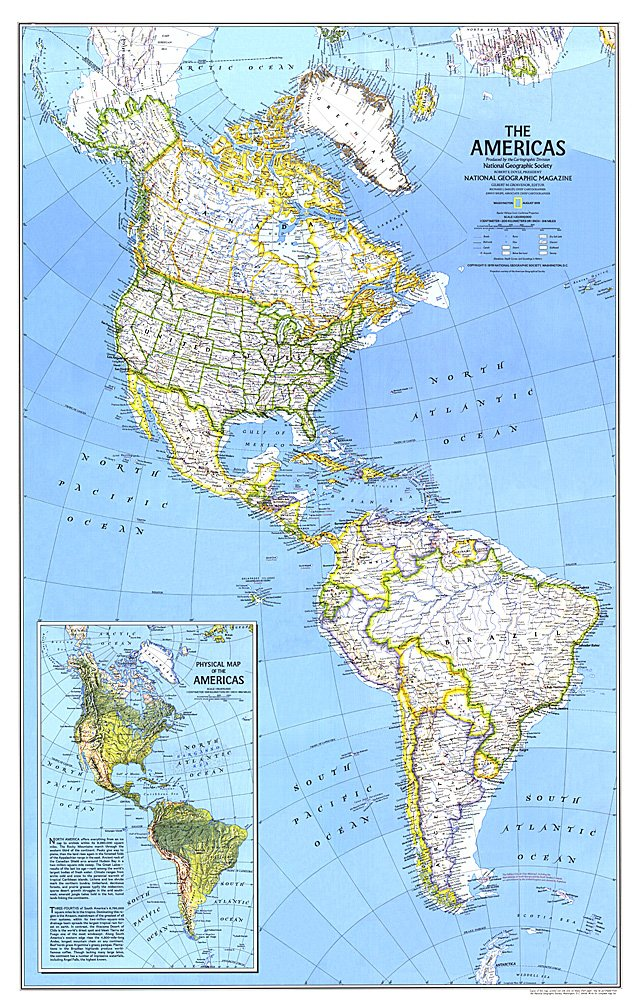 The Americas Map: America S Map At Usa Maps
