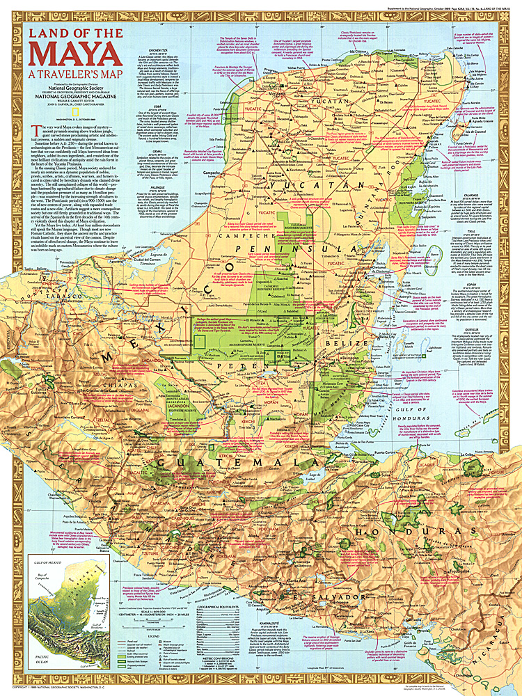 Special Places Of The World Holy Land Map