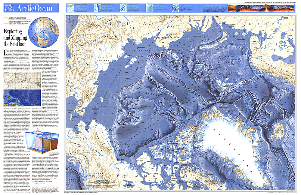 Arctic Ocean Floor World Ocean Floors, Ar...