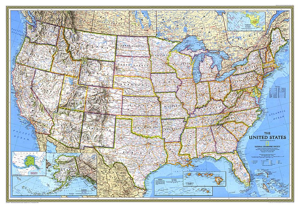 United States Map - Unites states maps