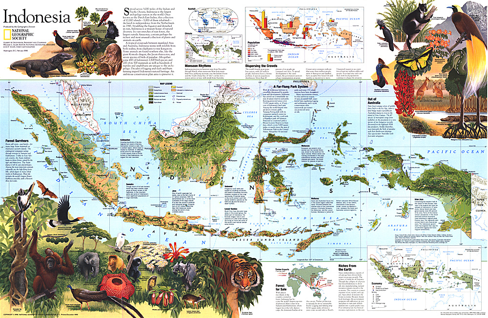 Indonesia Map - Indonesia map
