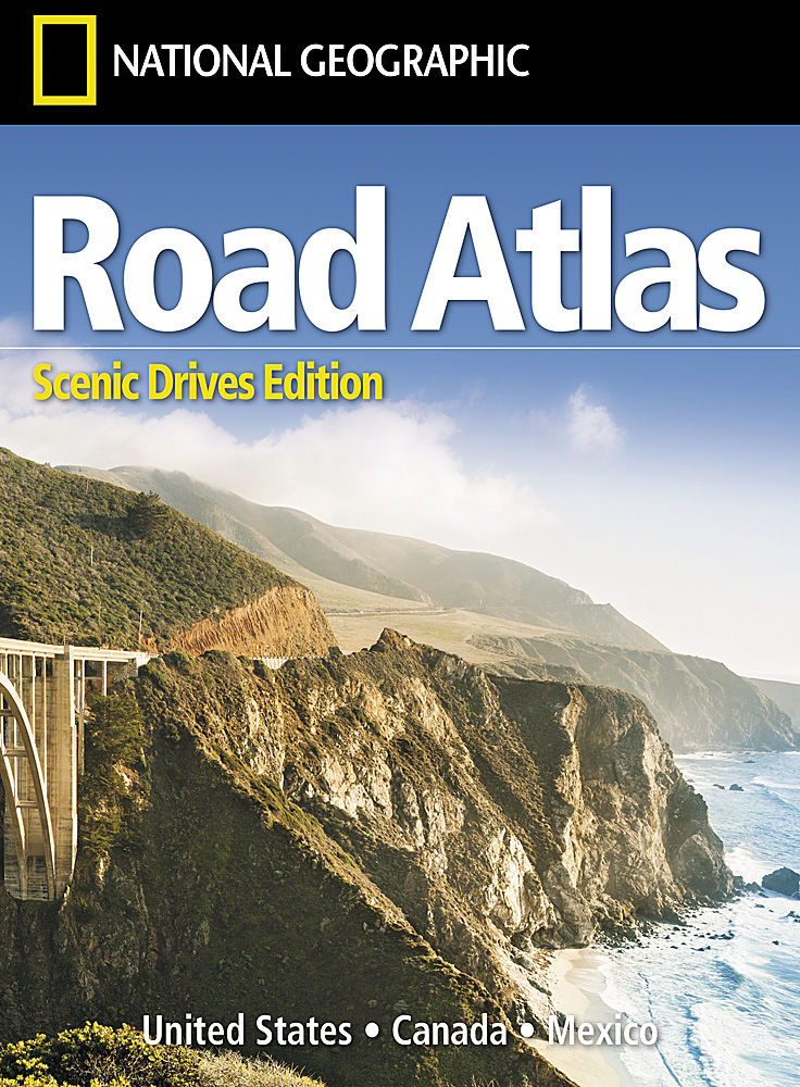 road atlas scenic drives edition united states canada mexico