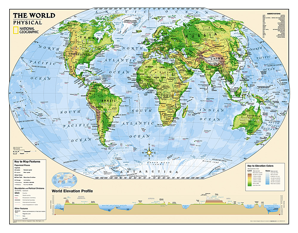 Kids wall maps kids physical world education grades 4 12 laminated gumiabroncs Image collections