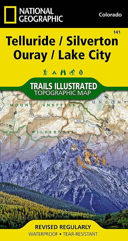 Colorado - Trails Illustrated Maps - Trail Maps