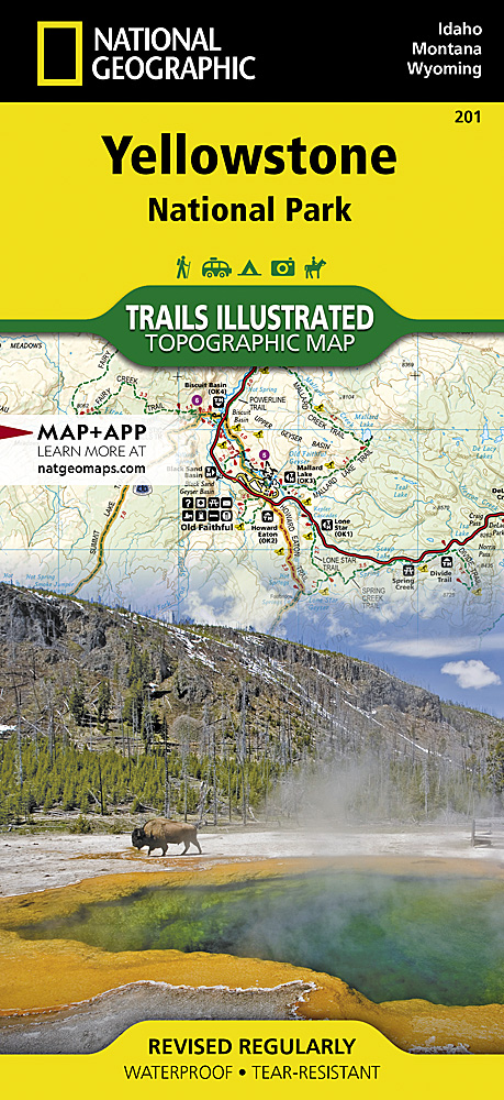 National geographic maps 201 yellowstone national park gumiabroncs Choice Image
