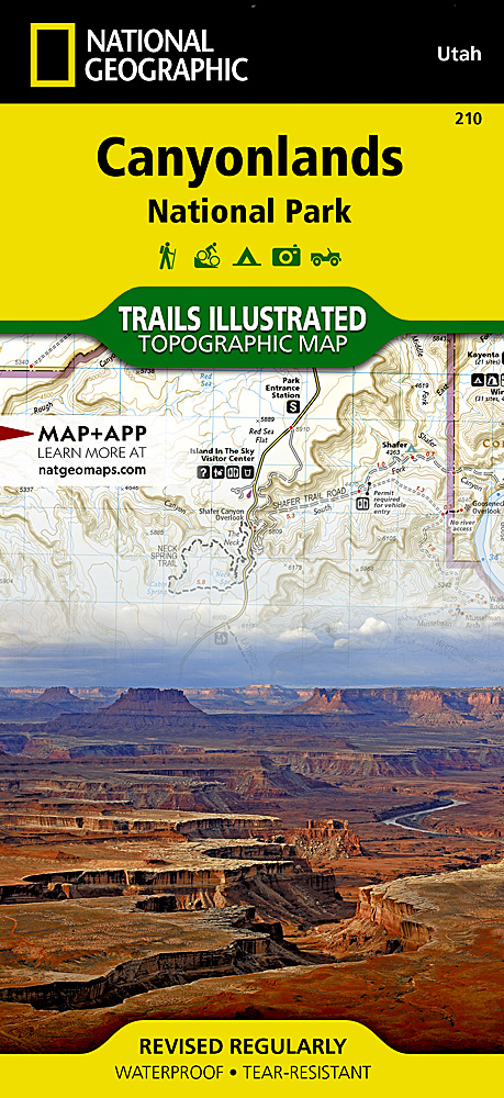 Utah Trails Illustrated Maps Trail Maps - Utah maps