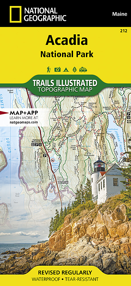 Maine Trails Illustrated Maps Trail Maps