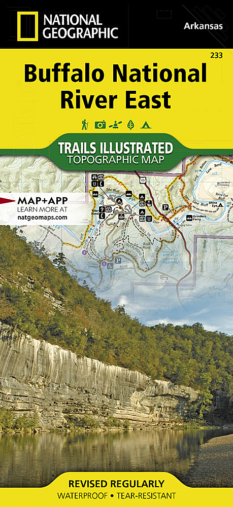 National geographic topo arkansas map cd rom windows
