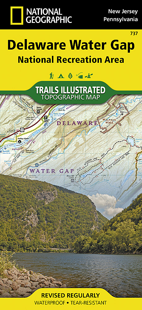 Pennsylvania - Trails Illustrated Maps - Trail Maps on