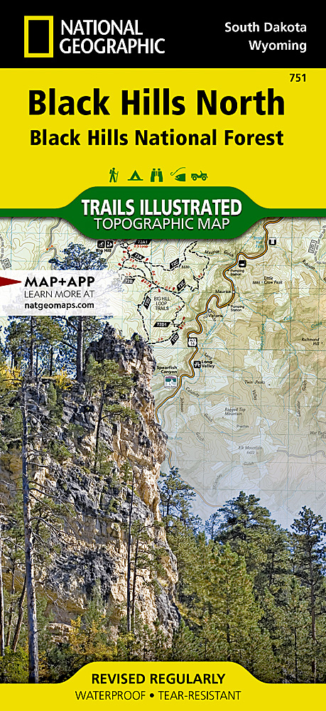 Black Hills North Black Hills National Forest - Us forest service topographic maps