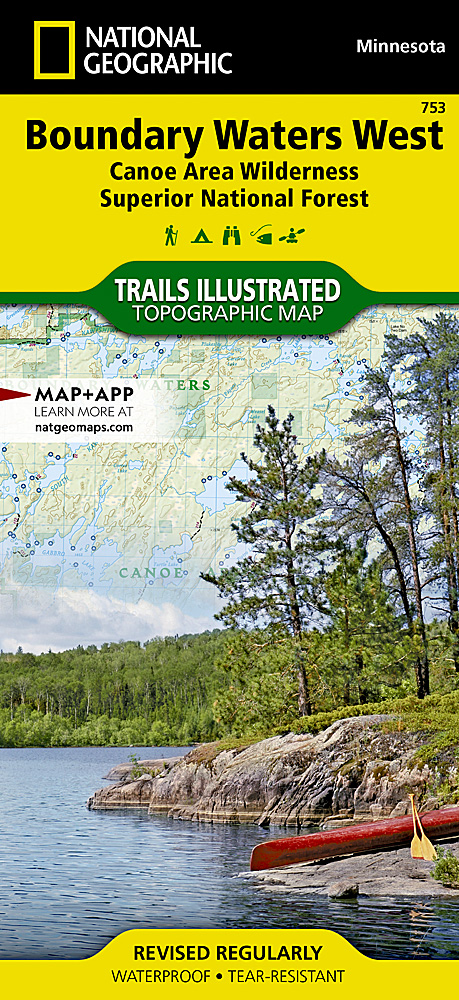 Boundary Waters West Canoe Area Wilderness Superior National Forest - Us map showing boundary waters minnesota