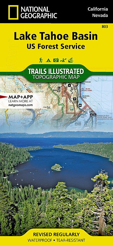 Lake Tahoe Basin US Forest Service - Us forest service road maps