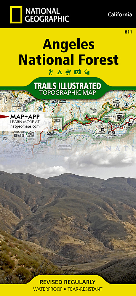 Angeles National Forest - Us forestry maps prescott az