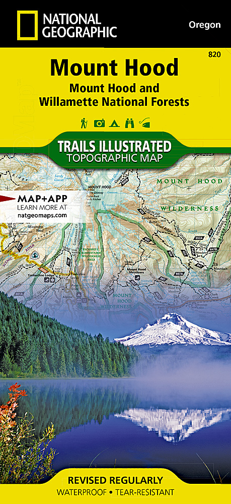 Mount Hood Mount Hood And Willamette National Forests - Topo maps us forest service