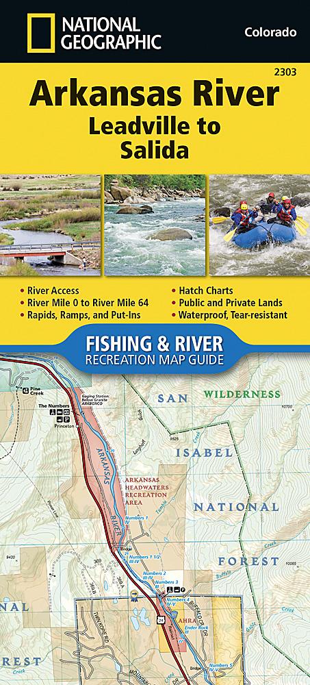 Arkansas River Leadville To Salida - Arkansas river map