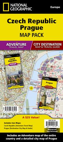 Czech Republic, Prague [Map Pack Bundle]