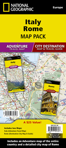 Travel Map Of Italy With Cities.Italy Rome Map Pack Bundle
