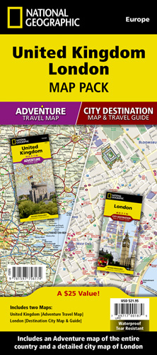 London Map Guide.United Kingdom London Map Pack Bundle