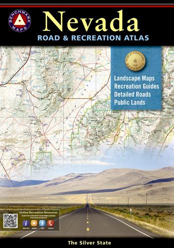 Nevada Benchmark Road & Recreation Atlas