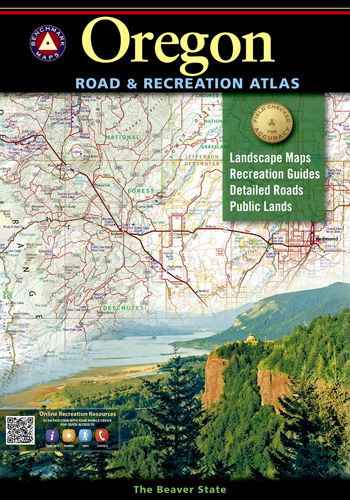 Oregon Benchmark Road & Recreation Atlas [7th edition]