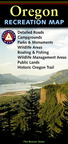 Oregon Benchmark Recreation Map