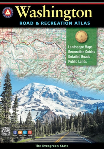 Washington Benchmark Road & Recreation Atlas