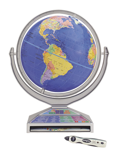Kids Interactive Intelliglobe - Interactive globe map