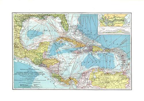 Central America, Cuba, Porto Rico, and the Islands of the Caribbean Sea