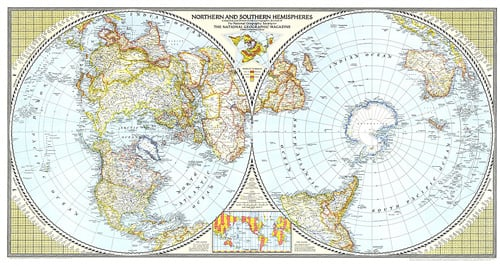 Northern and southern hemispheres map home northern and southern hemispheres map zoom gumiabroncs Choice Image