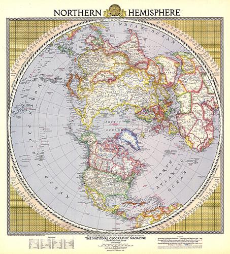 Map Of Northern Hemisphere Northern Hemisphere Map